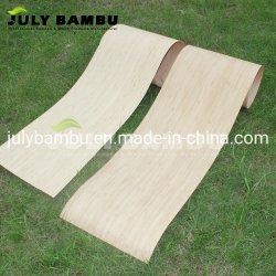 impiallacciatura di legno del bambù di 0.5mm per l'impiallacciatura di Longboard per la piattaforma