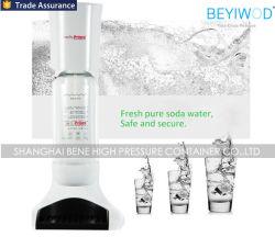 Accueil l'eau gazeuse Maker avec 0.6L culasse en aluminium de CO2