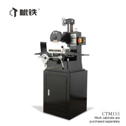 دقة عالية الجودة طحن يدوية كهربائية لطحن الجلاخة السطحية Ctm115 لا تسترخي في الماكينة