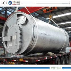 شعبيّة 10 طن إطار يعيد معدّ آليّ يحصل إطار العجلة زيت