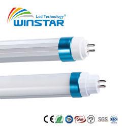 Tubo della circonvallazione dell'indicatore luminoso 1200mm 5FT 25W LED del tubo del coperchio glassato Ce Al+PC T5 LED