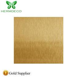 201 304 316本のブラシのステンレス鋼のProdcuts中国の製造者の金版