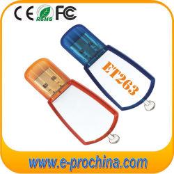 Fabrik-kundenspezifisches Großhandelsfirmenzeichen Plastik-USB grelles Disk16GB, 32GB