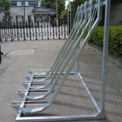 탄소강 반수직 5개 자전거 갈바니화 사이클 주차 스탠드