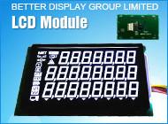 Va Blackground LCD négatif utilisé dans l'échelle électronique module LCD
