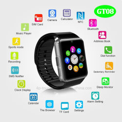Orologio Bluetooth Smart Design Hot Selling Fashion Con Fotocamera Gt08