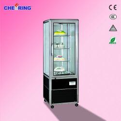 алюминиевый сплав 1-стойку двери торт дисплеем поврежден охладитель