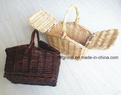 Crianças artesanais de alta qualidade Willow Toy cesta de vime Cesta