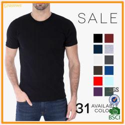 На заводе Custom дешевле хлопка высокого качества пустым человеком футболка одежды