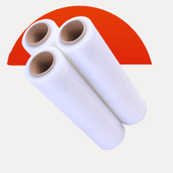 Пластиковую обертку PE упаковки прозрачные растянуть обвязка рулона пленки/PE стретч пленка/LLDPE термоусадочной устройства обвязки сеткой