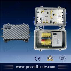 Двунаправленный CATV водонепроницаемый усилитель соединительных линий