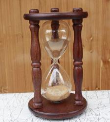 [توب قوليتي] [سندغلسّ] خشبيّة ساعة رمليّة حرفة