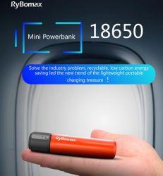 18650小型Powerbankの移動式再充電可能なリチウムポータブル電池