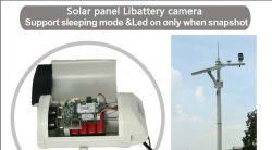 3G 5.0MP Sleeping Mode Wake up Solar Libattery Snapshot Camera Wh_5m0wgsn1m0_Bss