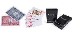 Póquer plástico do Poker/de papel feito sob encomenda, cartão de papel do retrato dos desenhos animados