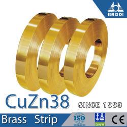 رقاقة معدنية رقيقة من رقائق الشريط H62 وH65 وH68 Brass لديكور المقصورة الداخلية الترانسفاقيالسابقة