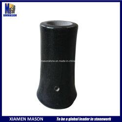 Cimetière des vases de granit noir pour le commerce de gros