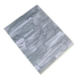 3D integrado PVC pared de ladrillos que cubren de instrumentos para la decoración del hogar