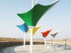 La toiture de la membrane de traction des installations commerciales pour le stand du stade
