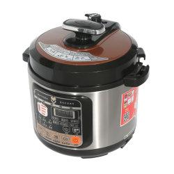 Multi Kocher 6 Quart-Count-down-programmierbarer beweglicher ovaler Edelstahl-langsamer Kocher mit Digital-Timer-Dampfer-Ofen