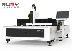 CNC el Metal de corte láser de fibra de la placa de acero inoxidable y tubo