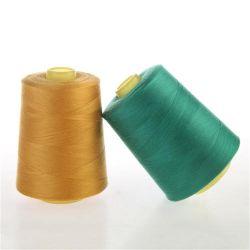 販売のための機械ボビンポリエステル高い粘着性の縫う糸を合わせること