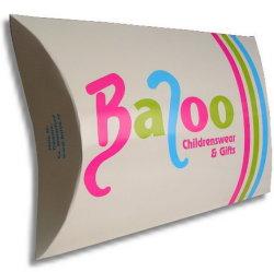 Sacchetto di imballaggio in carta con cuscino stampato