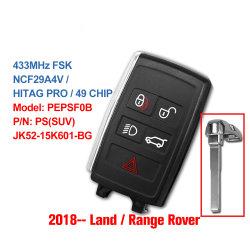Origineel voor Landrover Range Rover 2018 2019 2020 Slim Ver Zeer belangrijk FOB- jk52-15K601-BG jk52-15K601-DG van de Auto 433MHz Ncf29A4V Keyless Pepsf0b