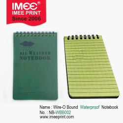 Imee Grosso quadriculado personalizado imprimindo páginas 100 Design à prova de uma viagem de negócios de arame NO EXTERIOR O Notebook vinculada