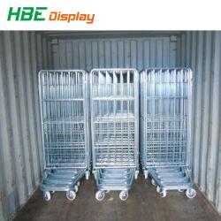 500kg capacité de chargement de rouleau Nestable entrepôt logistique Panier chariot