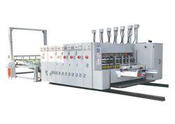 Gewölbter Karton-Kasten, der Flexo vier Farben-Drucken-Maschine herstellt
