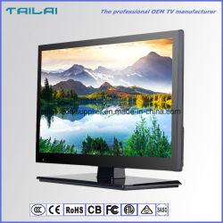 "OEM 15.6 ""720p Isdbt LED 텔레비젼 TFT LCD 대형 스크린 16:9 VGA HDMI USB"