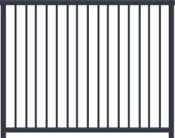 Пользовательские размеры черно-белый литой алюминиевый настил ограждения вертикальный алюминиевый балкон конструкции декоративных заводе питания цена