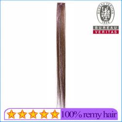 Material sintético Colordful Remy, secador de pelo de Clip 1 pedazo de extensión con cinta de color