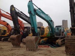 Utiliza pintura original 26t excavadora de cadenas de Kobelco buena calidad de la excavadora Kobelco SK260elc bajo las horas de trabajo