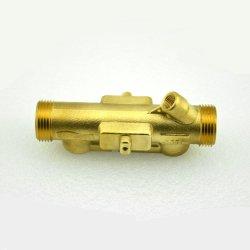 O tubo de fluxo de latão forjado com precisão a usinagem CNC