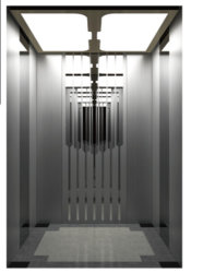 La machine Gearless Roomless Ascenseur