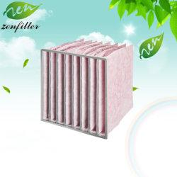 Luchtfilter met microvezelzak voor filtratie van het aircosysteem