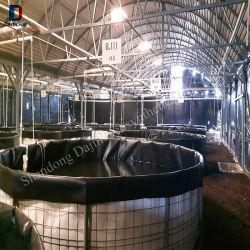 Fabrik-Preis-wasserdichte glatte Fischfarm HDPE Teich-Zwischenlagen Aquculture Geomembrane