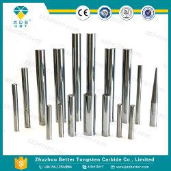 H6 solide poli les tiges de Carbure de Tungstène, carbure cimenté Tige pour Endmills