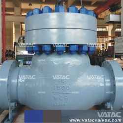 API 6D-промышленных полупроводниковая пластина или чугунные или шарик из нержавеющей стали или обратный клапан поворотного механизма