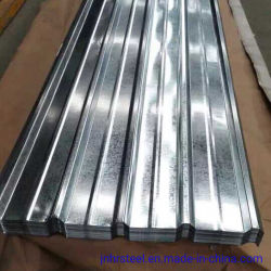Commerce de gros trempés à chaud en acier galvanisé ondulé tôle de toit