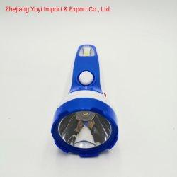 Blauwe Kleur 8667 het Nieuwe ABS Plastic Flitslicht van de Toorts van Rechargeble van de MAÏSKOLF Zij Lichte 1W