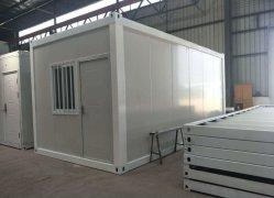 La Pologne Structure en acier moderne Mobile conteneur préfabriqués Maison à vendre