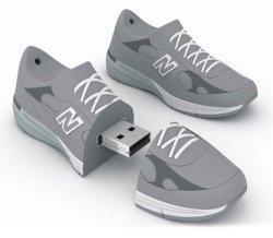 El PVC de USB 3.0 Flash Drive USB Stick Memory Stick Zapatillas regalo de empresa