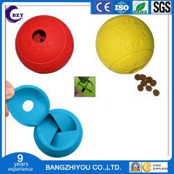 Puzzlespielleaker-Leck-Nahrungsmittelkugel-Gummihundespielzeug