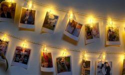 10 個または 40 個の LED ウォールペグライトパック