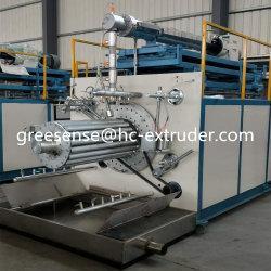 Hc Greesense спираль с заданным профилем сточных вод PE пластиковые трубонарезной станок\пластиковые экструдер машины