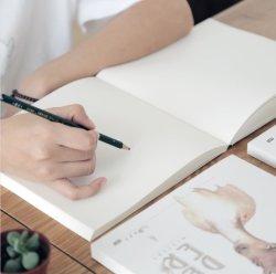 Skizze-Buch-Skizze-Buch-Kunst-Abbildung-Buch-Kursteilnehmer-Farbanstrich-Buch-Skizze-Buch-Leerzeichen-Graffiti-weiches Exemplar-Notizbuch