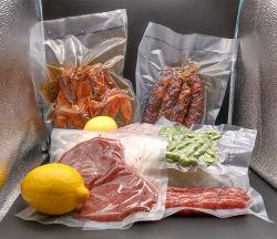 ختم حرارة مخصص VAC بروز نيلون التغليف البلاستيك المواد الغذائية الفراغ حقيبة إعادة التقort
